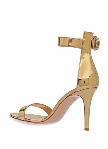 Gianvito Rossi Ayakkabı Altın